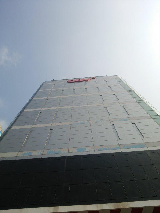 CGV大邱アカデミーが入っているビルの外観(2015年10月22日撮影)